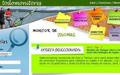 ¿Quieres ser Monitor de Tiempo Libre este verano?