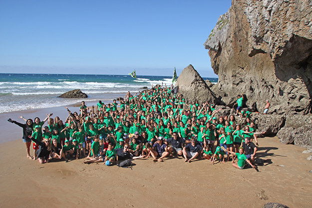 CAMPAMENTO MULTIAVENTURA IRISH SUMMER CAMP 2017