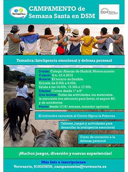 CAMPAMENTO SEMANA SANTA EN DSM - VORWAERTS 2019