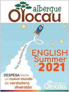 CAMPAMENTOS EN EL ALBERGUE OLOCAU 2021