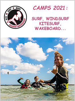 SURF, WINDSURF, KITESURF - FAMILIAR / ADULTOS 2021