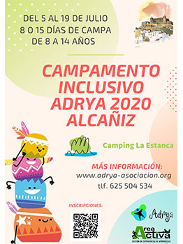 CAMPAMENTO ADRYA 2020- AREA ACTIVA