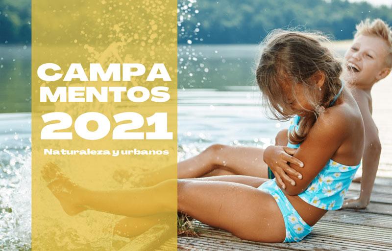 CAMPAMENTOS AULA JOVEN 2021