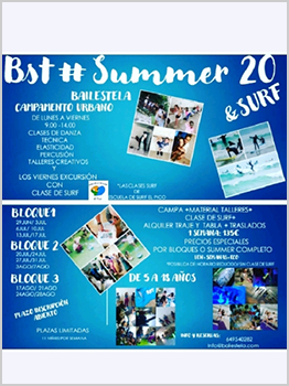 Bst# SUMMER - DANCE & SURF 2020