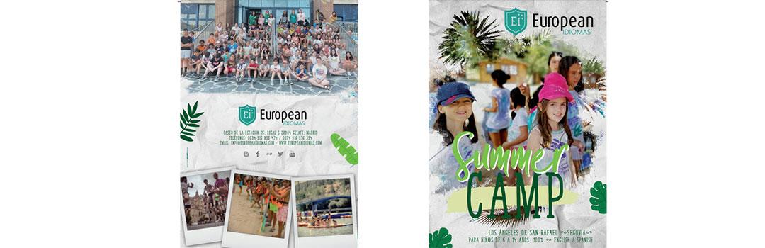 CAMPAMENTOS PARA COLEGIOS - EUROPEAN IDIOMAS 2020