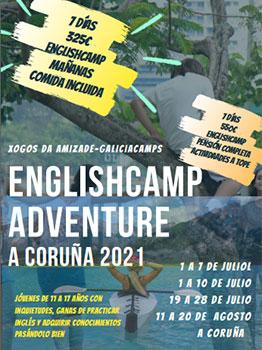 ENGLISHCAMP ADVENTURE 2021
