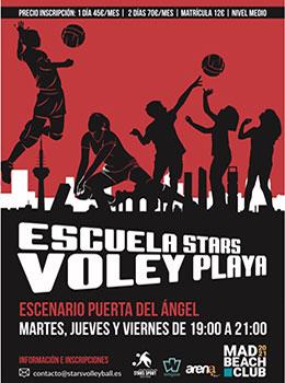 ESCUELA STARS VOLEY PLAYA 2021
