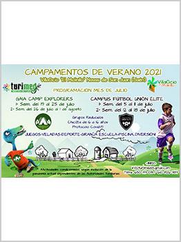 CAMPAMENTOS DE VERANO TURIMED 2021