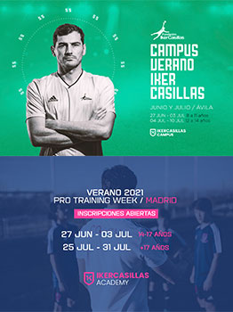 CAMPUS IKER CASILLAS 2021