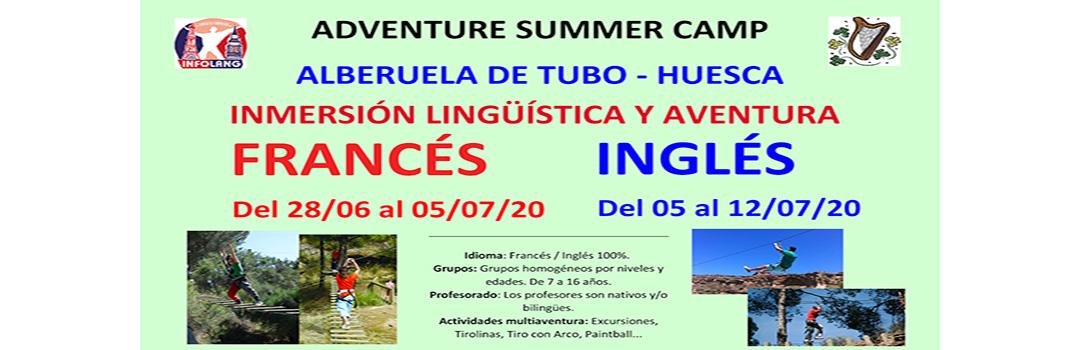 ADVENTURE SUMMER CAMP - INFOLANG 2020