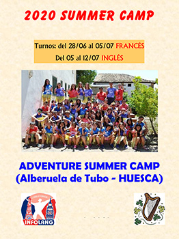 ADVENTURE SUMMER CAMP - INFOLANG 2020