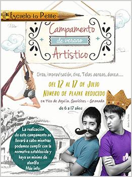 CAMPAMENTO DE VERANO ART�STICO 2020