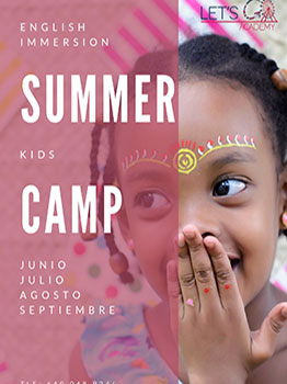 LETS GO SUMMER CAMP EN MADRID 2021