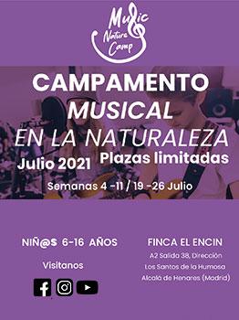 MUSIC NATURE CAMP 2021