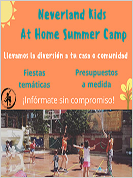 NEVERLAND KIDS - AT HOME SUMMER CAMP 2020