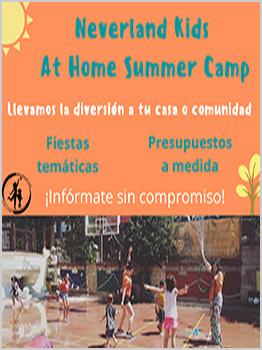 NEVERLAND KIDS - AT HOME SUMMER CAMP 2020