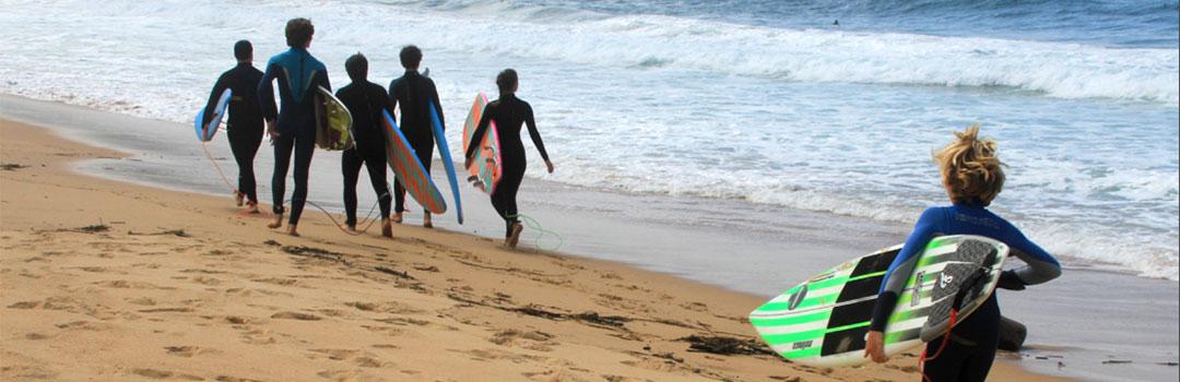 CAMPAMENTO DE VERANO EN INGLÉS CON SURF 2020