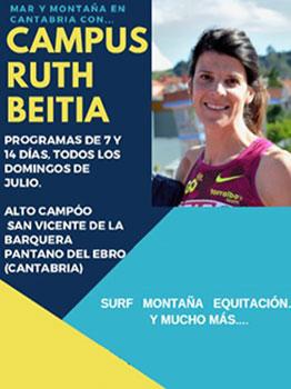 CAMPUS RUTH BEITIA MAR Y MONTAÑA EN CANTABRIA 2020