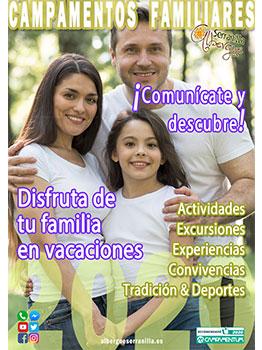 CAMPAMENTO FAMILIARES - ALBERGUE SERRANILLA 2020