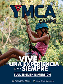 FULL ENGLISH IMMERSION CAMPS - YMCA 2021