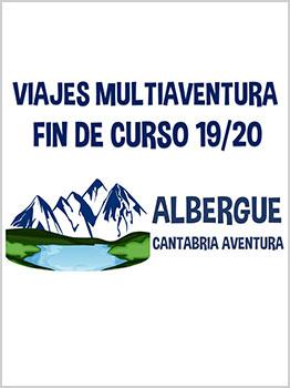 ALBERGUE CANTABRIA AVENTURA 2019