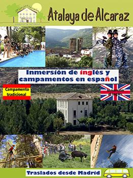 CAMP. DE INMERSIÓN EN INGLÉS EN ALBACETE 2020