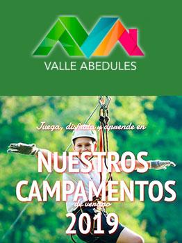 CAMPAMENTOS VALLE ABEDULES - 2019