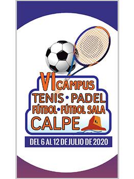 CAMPUS TENIS-PADEL-FÚTBOL Y FÚTBOL SALA CALPE 2020