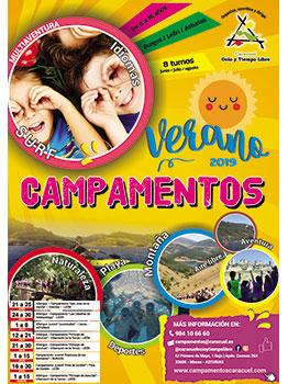 CAMPAMENTO  EN SAN JOSÉ DE LA VECILLA 2019