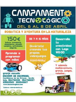 """CAMPAMENTO TECNOLÃ""""GICO  2020"""