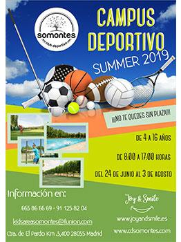 CAMPUS DEPORTIVO SOMONTES 2019