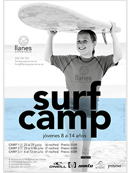 LLANES EXPERIENCE SURF CAMP 2019