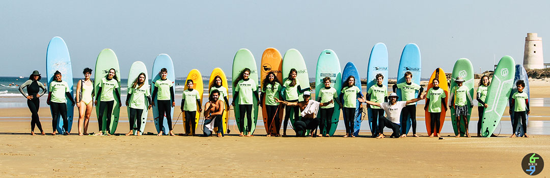 SURF CON LA ESCUELA ON THE SEA 2019 - 2020