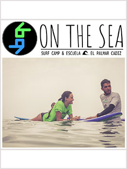 SURF CON LA ESCUELA ON THE SEA