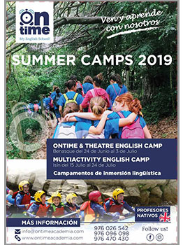 MULTIACTIVITY O THEATRE ENGLISH CAMP- ON TIME 2019