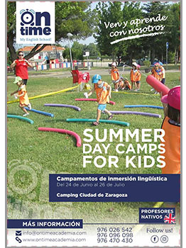 SUMMER DAY CAMP FOR KIDS - ON TIME