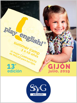 PLAY ENGLISH CAMP - INMERSIÓN EN INGLÉS 2019