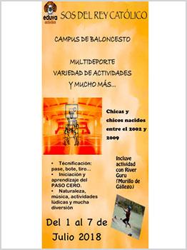 CAMPUS DE BALONCESTO EDUVA