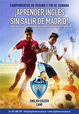 ENGLISH SOCCER CAMP 2017. FÚTBOL EN INGLÉS