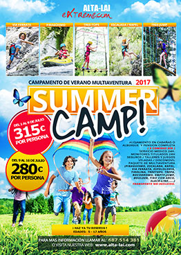 SUMMER CAMP MULTIAVENTURA 2017 - ALTA-LAI