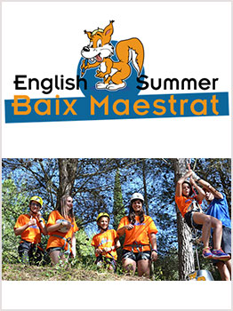 ENGLISH SUMMER BAIX MAESTRAT  2019