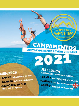 ADVENTURE CAMP. CAMPAMENTOS MULTI-EXPERIENCE 2021