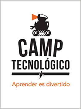 """CAMPAMENTOS TECNOLÃ""""GICOS -  2019"""