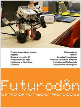 """CAMPAMENTOS TECNOLÃ""""GICOS FUTURODON"""