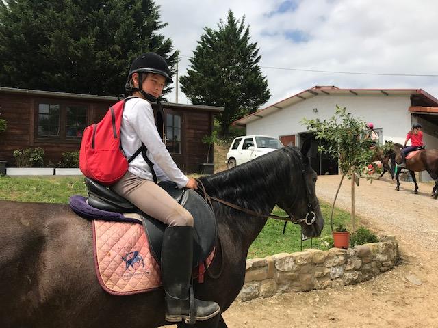 LA ESPINA, ENGLISH RIDING CAMP 2019