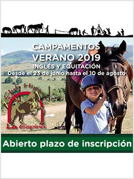 EQUITACION E INGLÉS - LA ESPINA 2019