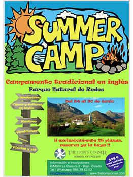 SUMMER CAMP. CAMPAMENTO DE INGLÉS EN REDES