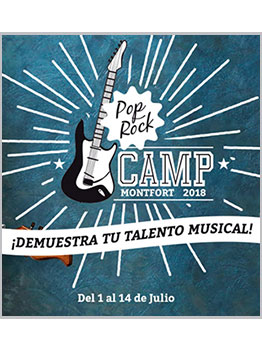 POP ROCK CAMP 2018