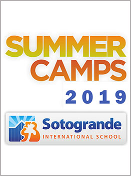 CAMPAMENTOS SOTOGRANDE INTERNATIONAL SCHOOL 2019
