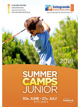 SOTOGRANDE INTERNATIONAL CAMP JUNIORS - 2019